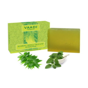 Alluring Neem Tulsi Soap With Vitamin E & Tea Tree Oil