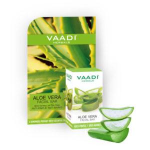 Aloe Vera Facial Bar With Extract Of Tea Tree