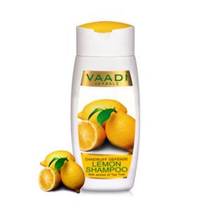 Dandruff Defense Lemon Shampoo With Extract Of Tea Tree (110 Ml)