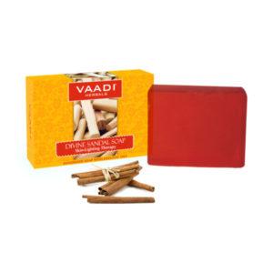 Divine Sandal Soap With Saffron & Turmeric