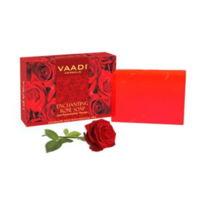 Enchanting Rose Soap With Mulberry Extract