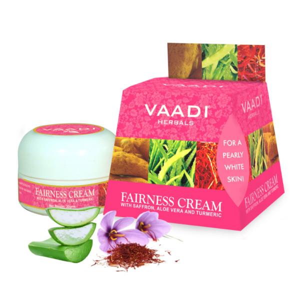 Fairness Cream Saffron, Aloe Vera & Turmeric Extracts (30 Gms)