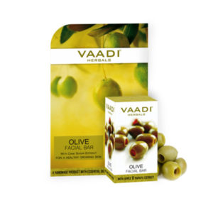 Olive Facial Bar With Cane Sugar Extract