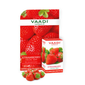 Strawberry Facial Bar With Grapeseed Extract