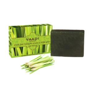 Enticing Lemongrass Scrub Soap