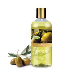 breezy olive & green apple shower gel