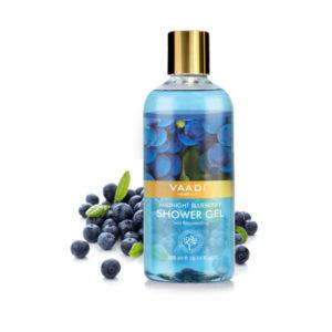 midnight blueberry shower gel