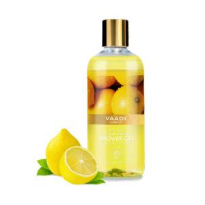 refreshing lemon & basil shower gel