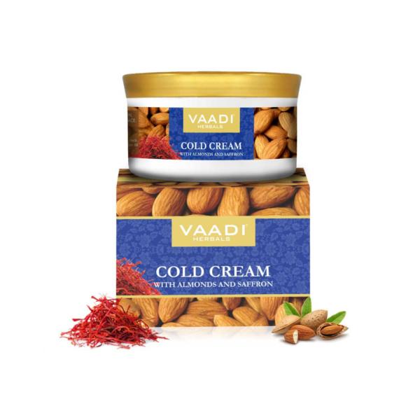 cold cream with almond oil, aloe vera & saffron (150 gms)